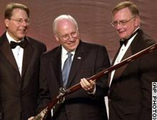Cheney got a gun
